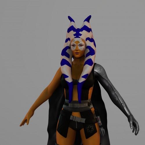 Female Togruta Sith – Star Wars